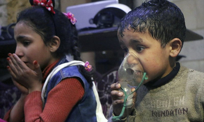 Urgent UN Security Council meeting sought on Syria gas attack