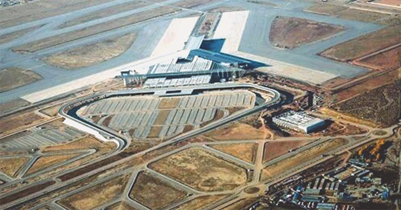 AN aerial view of the new Islamabad International Airport.—White Star