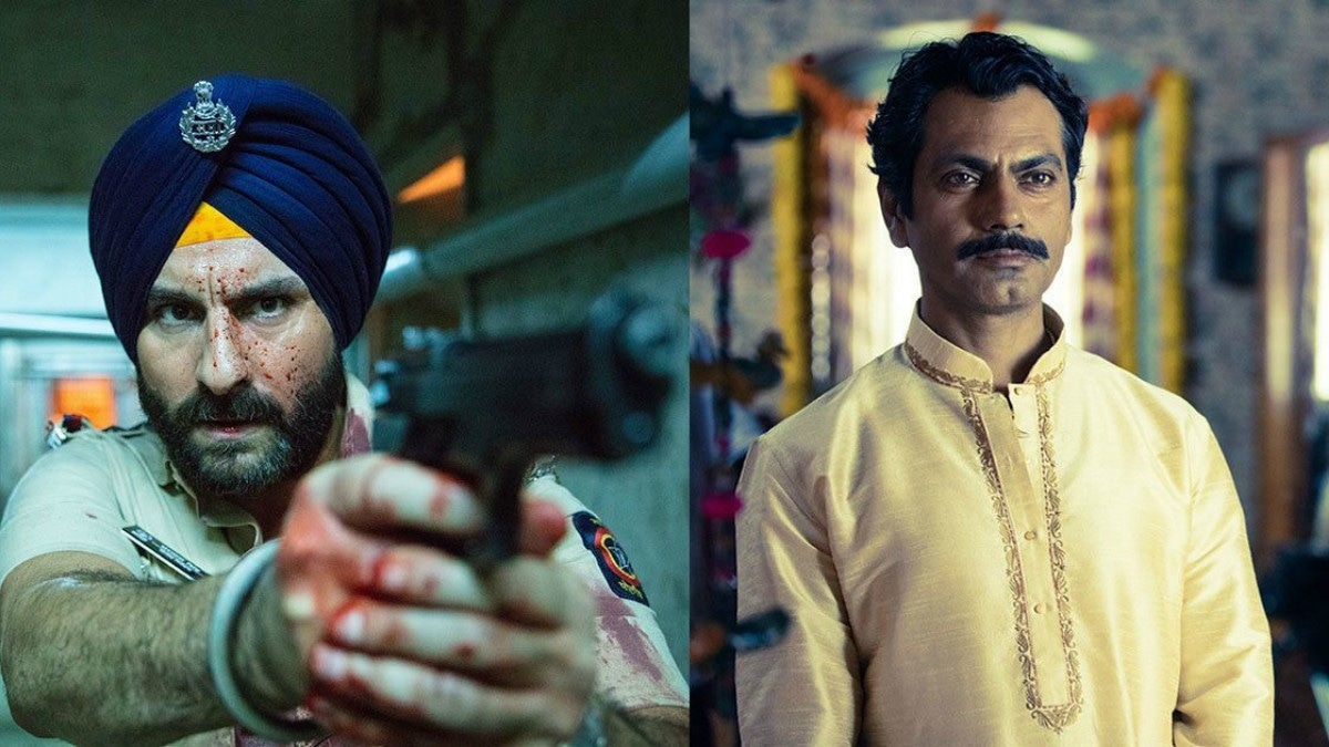 Elnaaz is proud to star alongside Saif and Nawazuddin in India's first Netflix original, Sacred Games
