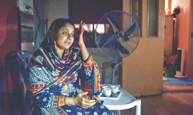 Asma Nawab, free finally after spending 20 years in jail.—Fahim Siddiqi / White Star