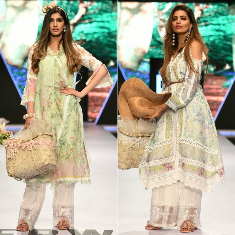 Puzzling Looks Dominated The Ramp On Day 1 Of Fashion Pakistan Week Style Images