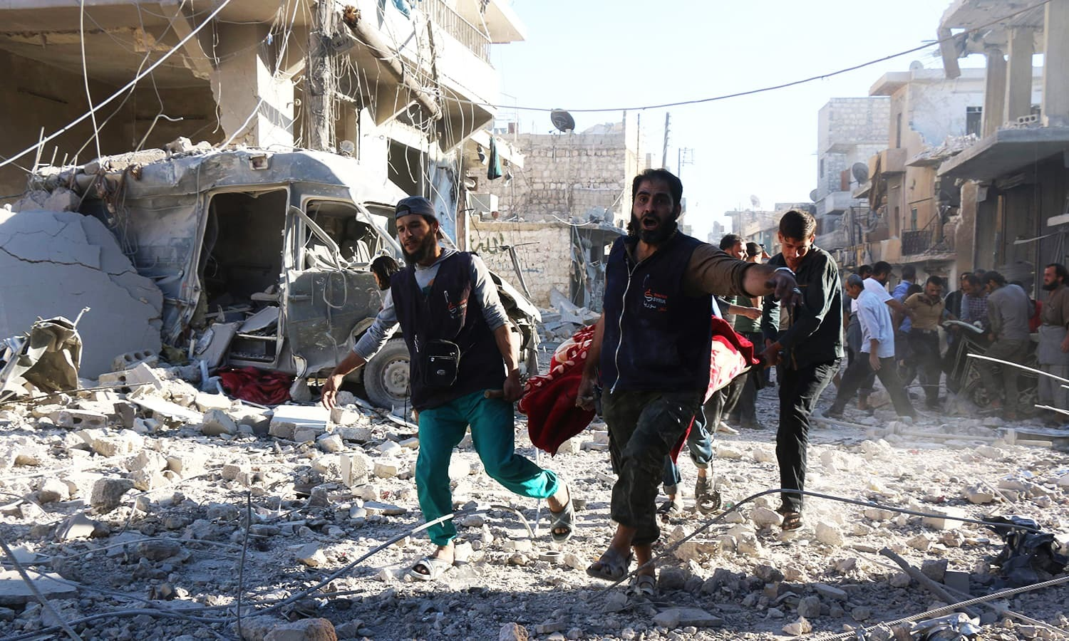 As US-Russia tension mounts, UN warns against letting Syria crisis 'spiral' out of control