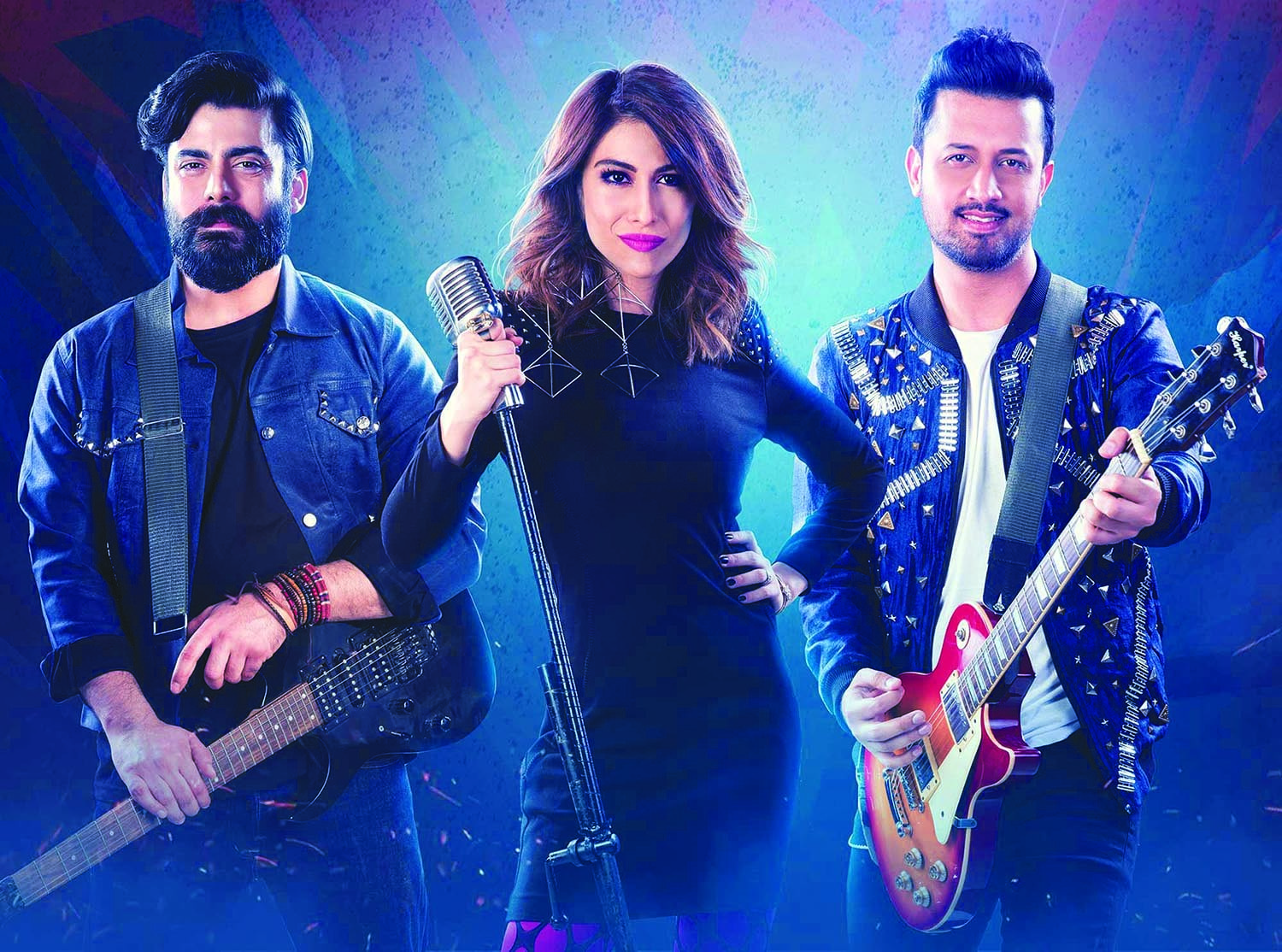 Fawad Khan, Meesha Shafi and Atif Aslam were on the panel of judges for the Pepsi Battle of the Bands in 2017. The show was aired on PTV in 2002, but discontinued after the first season. It was then revived last year as according to the brand's consumer research, there was a dearth of platforms where young people could display their musical virtuosity. Although Pepsi was the pioneer in the genre of brand-sponsored musical reality shows back in 2002, since then, a host of brands have launched their branded music shows, including Coke Studio, Nescafé Basement and Strepsils Stereo, to promote the industry and provide exposure to new talent.
