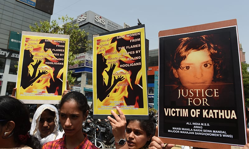 Rape, murder of 8-year-old girl triggers nationwide outrage
