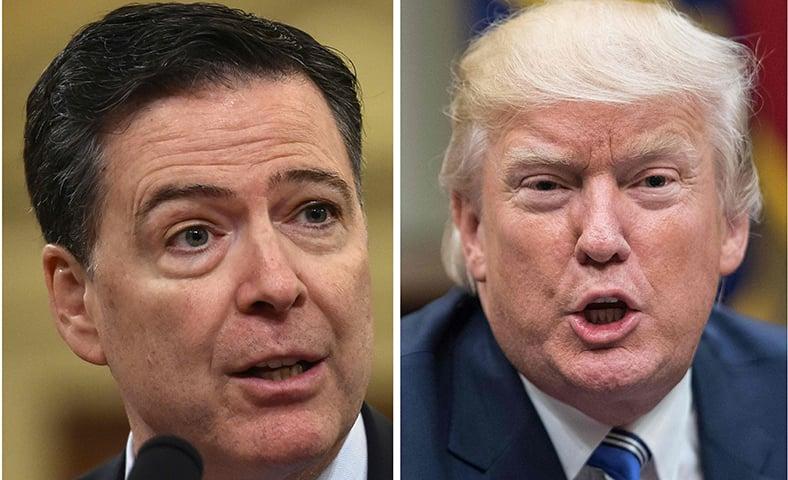 Trump demands prosecution of ex-FBI chief Comey