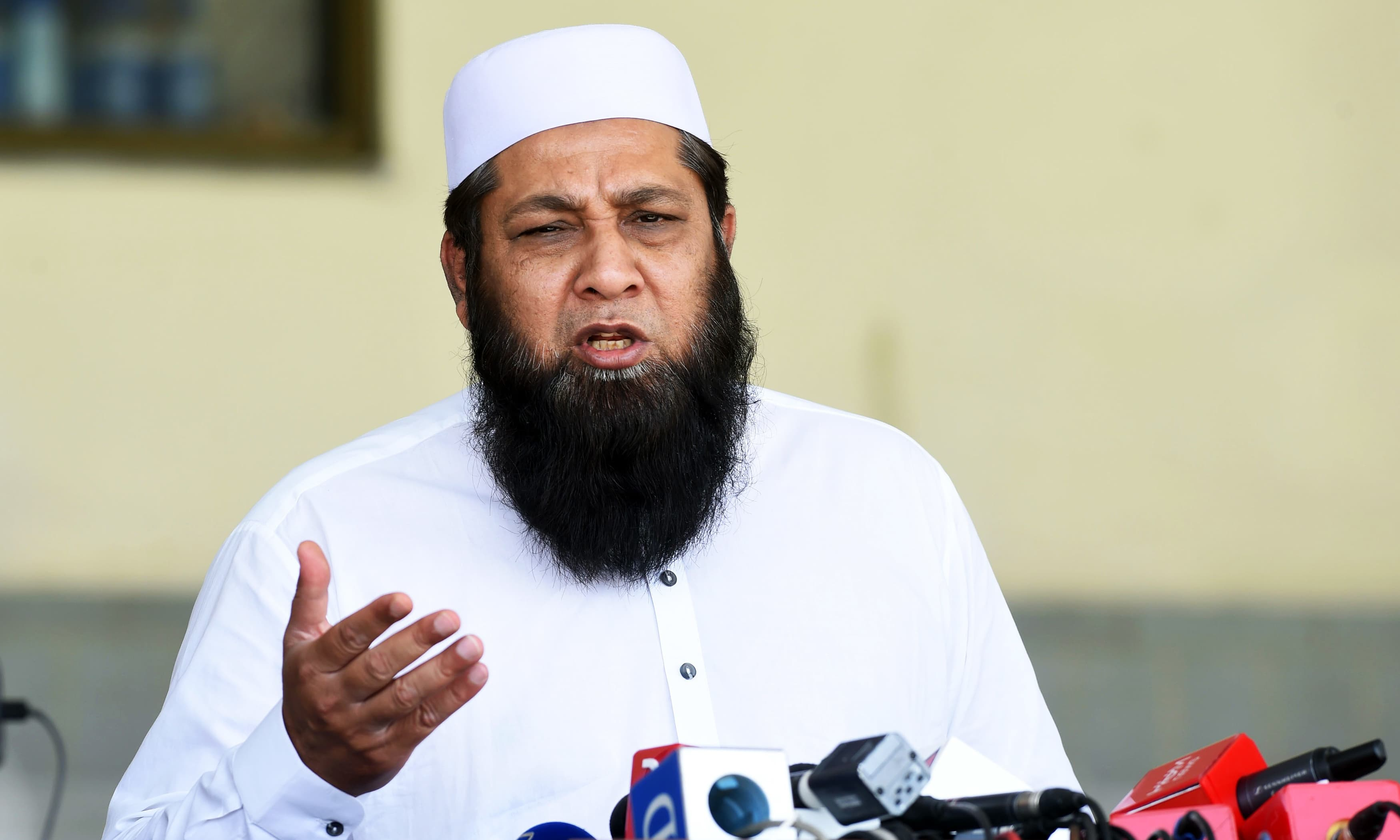 Inzamam announces 'strong batting' Test squad for England-Ireland tour