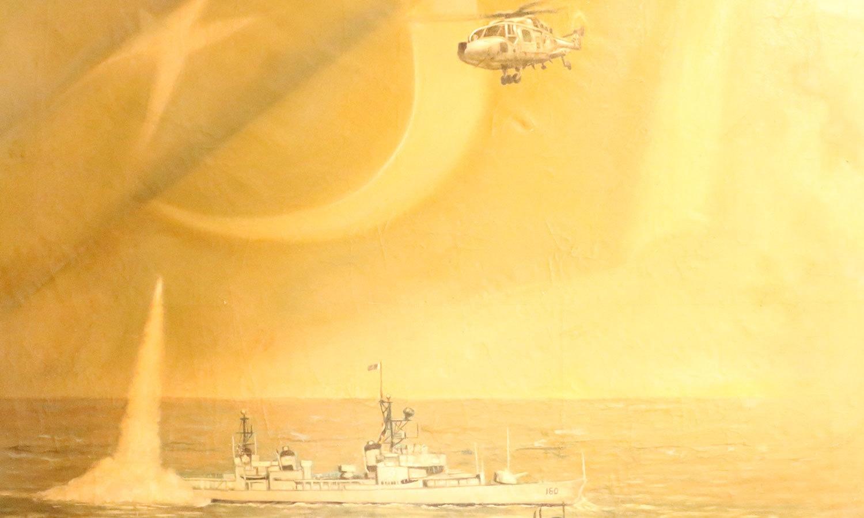پاکستان نیوی سطح آب، زیر آب، ساحلی علاقوں کے ساتھ فضا میں بھی ملک کی حفاظت کی خدمات انجام دیتی ہے