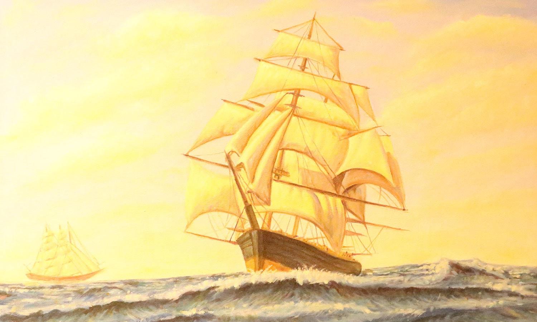 قدیم وقتوں میں بادبانی کشتیاں سمندر میں طویل سفر کی بہترین ساتھی تصور کی جاتی تھیں