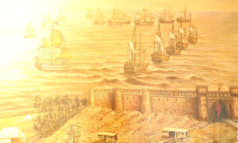 انگریز بحری راستے سے جنوبی ایشیا میں داخل ہوا، اور پھر سازشوں سے یہاں کا حکمران بننے میں کامیاب بھی ہوا