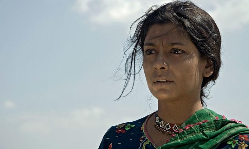 فلم رام چند پاکستانی میں نندیتا داس نے ایک دلت خاتون کا کردار ادا کیا تھا—تصویر  junoontheatre.wordpress