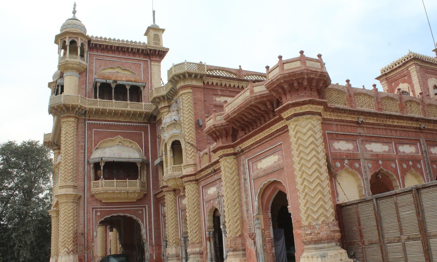 1786ء میں میر سہراب خان نے خیرپور کو اپنی تخت گاہ بنایا—تصویر اختر حفیظ