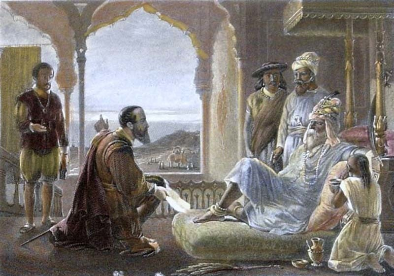 واسکوڈے گاما ساموتھری سے ملاقات