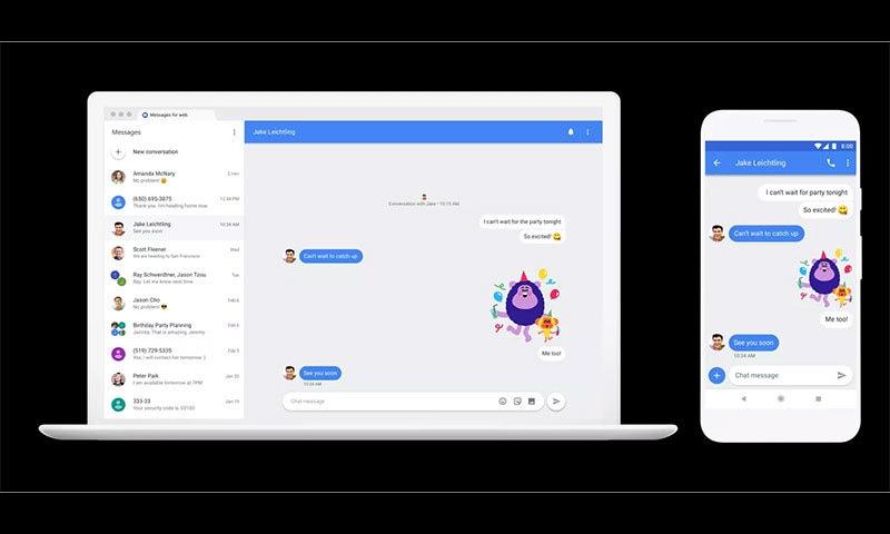 ویب اور فون میں یہ نئی سروس کچھ ایسی ہوگی — فوٹو بشکریہ گوگل