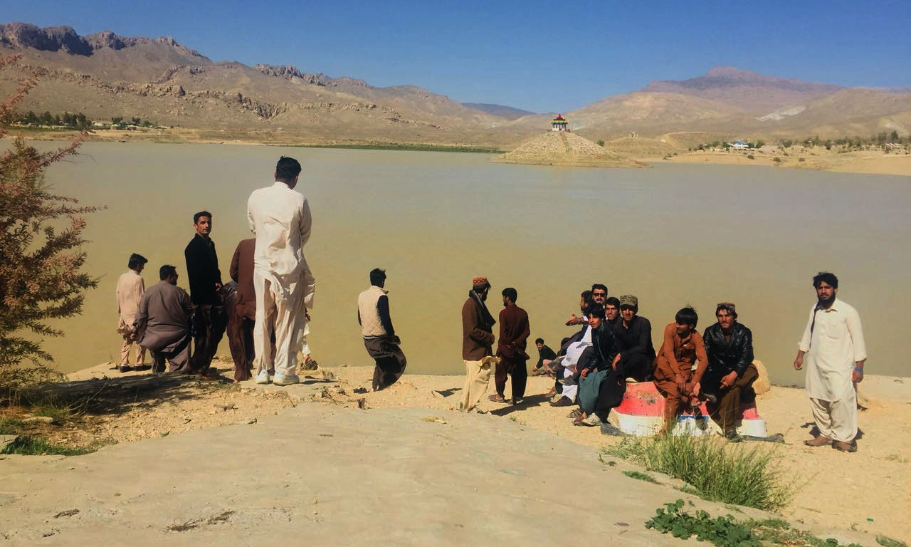 Tourists visiting Hanna Lake.—Hafizullah Shirani