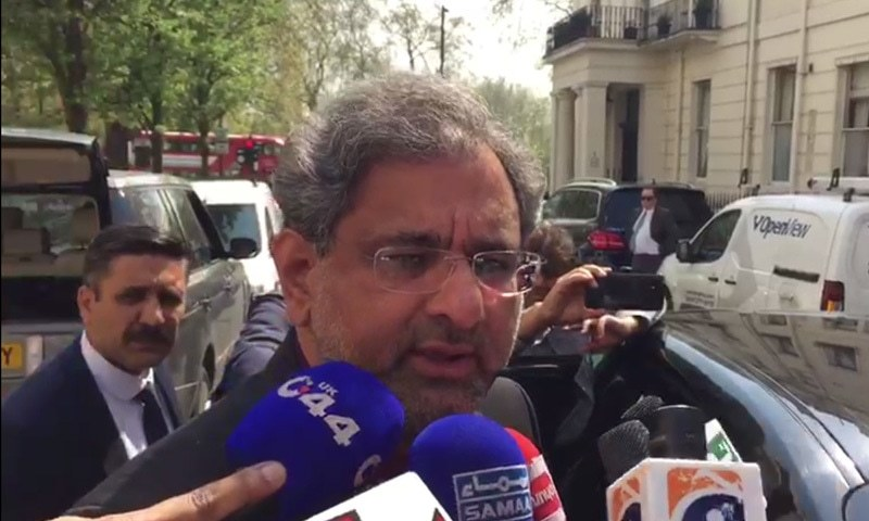 PM Abbasi and Nawaz discuss caretaker government during London meeting