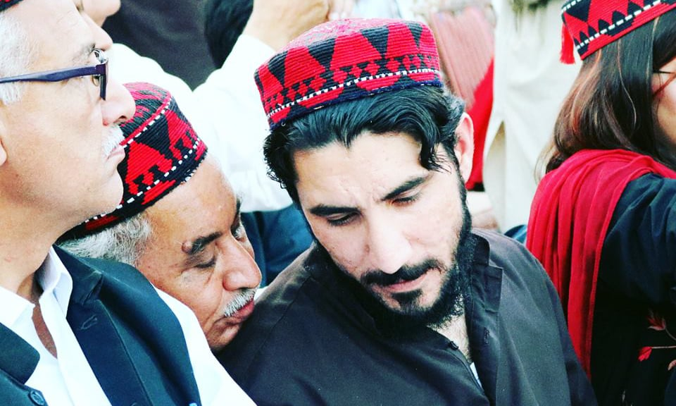 Manzoor Pashteen says the country has seen the result of their first demand, the arrest of former SSP Malir Rao Anwar. —Aima Khosa