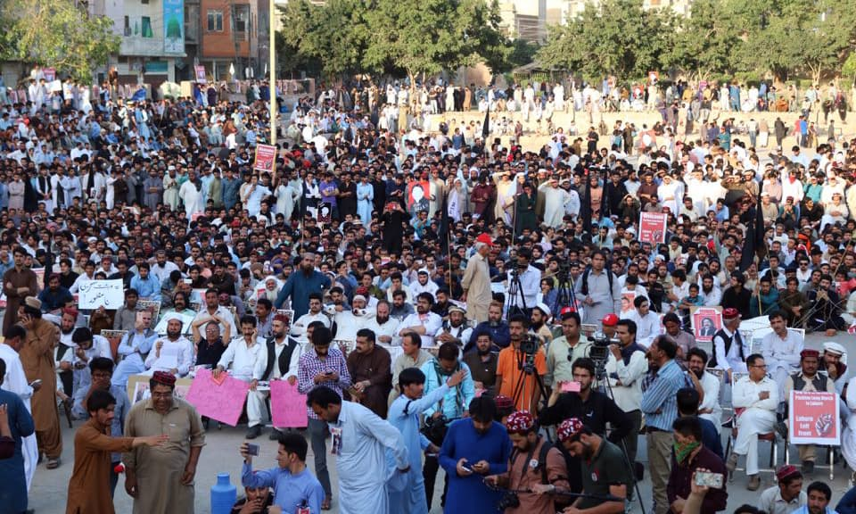 PTM rally was attended by people from all walks of life. —Aima Khosa