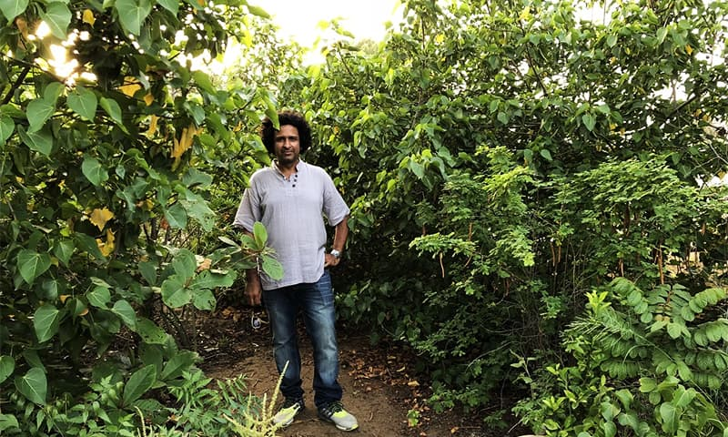 How this entrepreneur built a forest in the heart of Karachi to combat urban heat