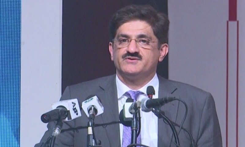 Sindh CM Murad Ali Shah — DawnNewsTV