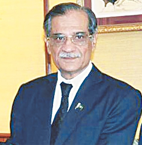 CJP Saqib Nisar says laws should be made to provide security to those who genuinely need it.