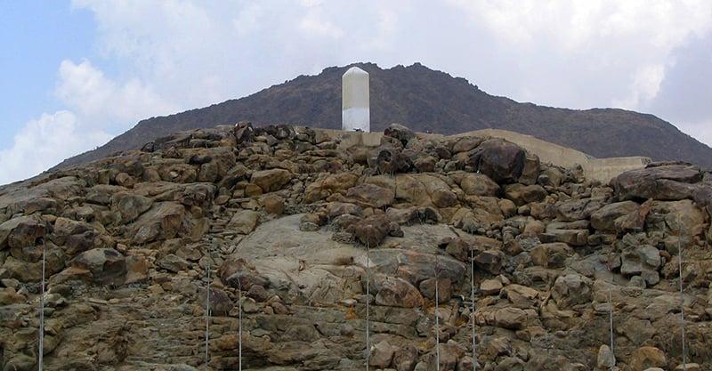 جبلِ رحمت—تصویر عبیداللہ کیہر