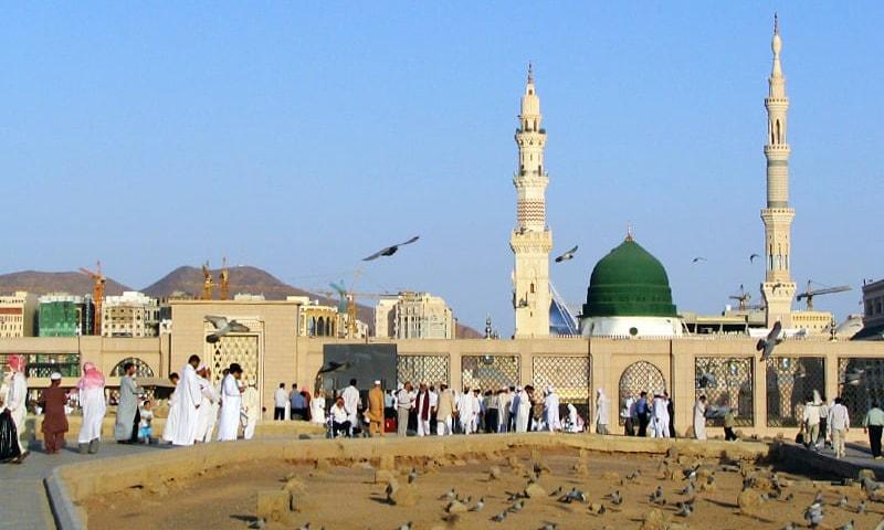 مسجد نبوی—تصویر عبیداللہ کیہر