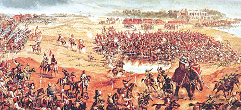 Image result for battle of plassey