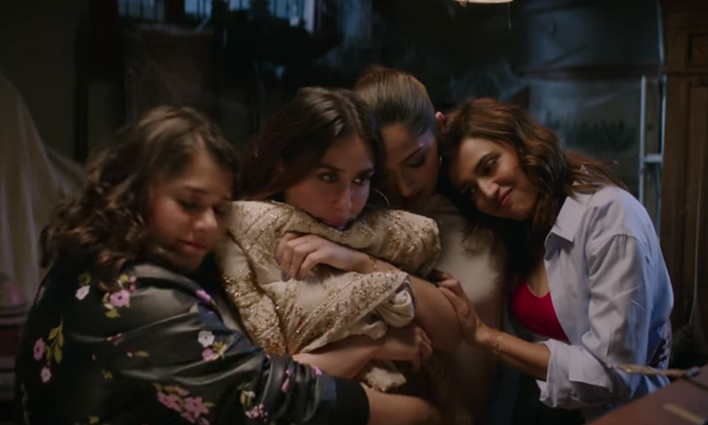 'ویرے دی ویڈنگ' 4 دوستوں کی کہانی پر مبنی فلم ہے —۔