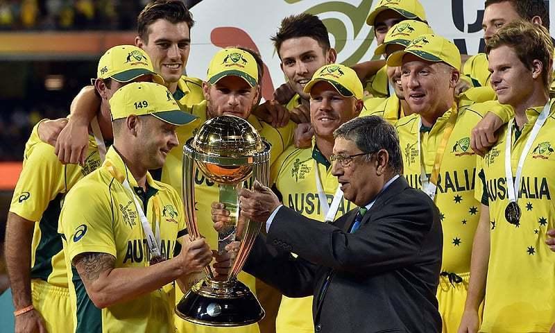 ورلڈ کپ 2019 میں آسٹریلیا اپنے اعزاز کا دفاع کرے گا— فائل فوٹو: اے ایف پی