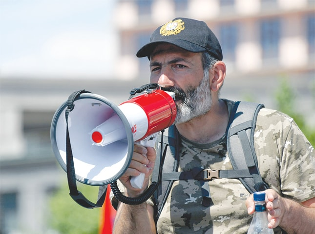 In Armenia broke out again, a wave of protests