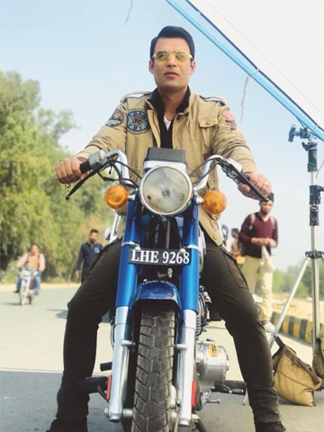 Adnan Sarwar says he had to learn how to ride a bike for his role in Motorcycle Girl