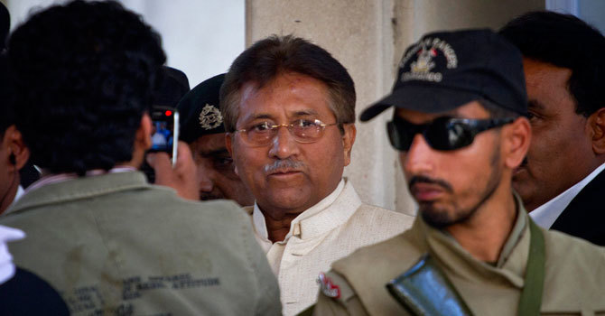 Govt move for early verdict in Musharraf treason case