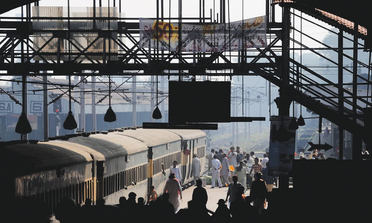 Lahore Railway Station | Arif Ali, White Star
