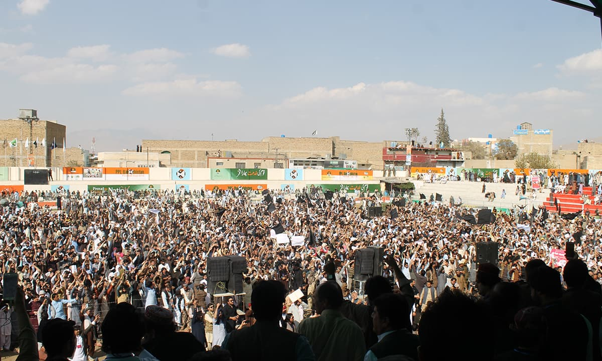 A Pashtun Tahafuz Movement gathering in Quetta | Ghulam Dastageer