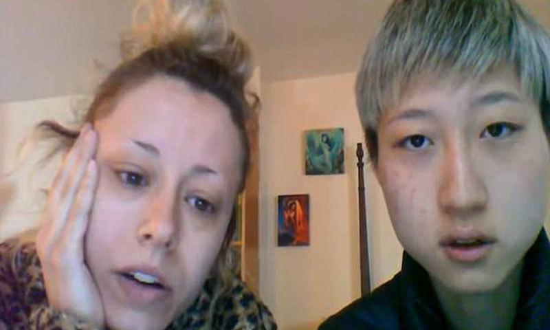 ویڈیو پیغام میں اداکار کی بیٹی نے والدین کو ہم جنس پرست مخالف قرار دیا—اسکرین شاٹ