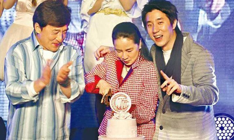 جیکی چن کا بیٹا بھی اداکار ہے—فائل فوٹو: ایشیا ون