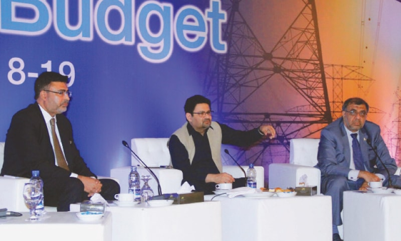 KARACHI: Finance Minister Miftah Ismail is addressing a post-budget seminar at ICAP.