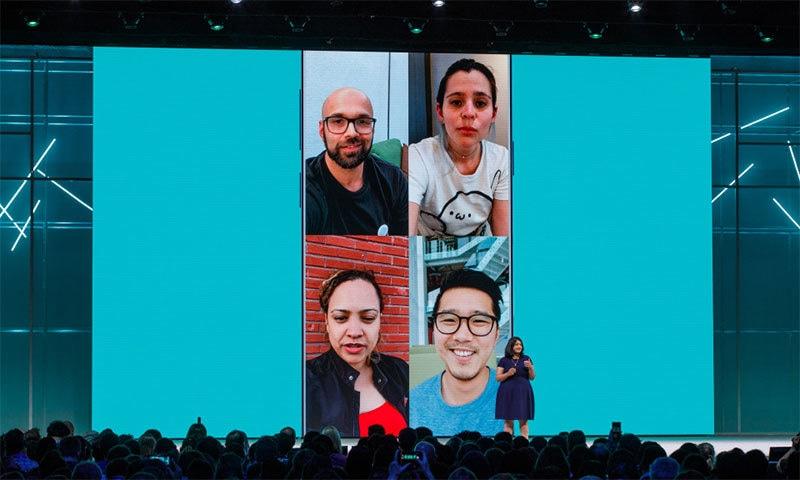 واٹس ایپ میں ممکنہ ویڈیو کالنگ کچھ اس طرح ہوگی — فوٹو بشکریہ فیس بک