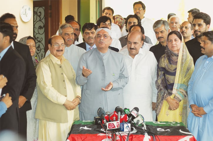PPP, PTI could forge Senate-like arrangement if needed: Zardari