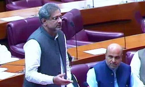 Abbasi blasts NAB over charge Nawaz sent money to India