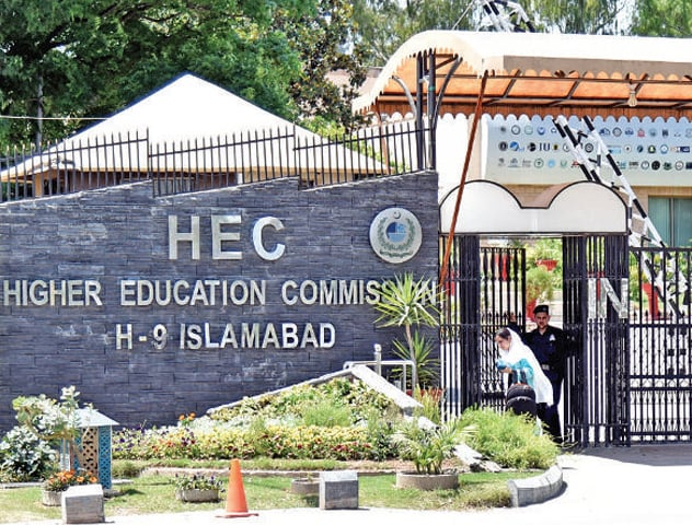 The post of HEC chairman has been vacant since April 14 when Dr Mukhtar Ahmed completed his four-year term. — File photo