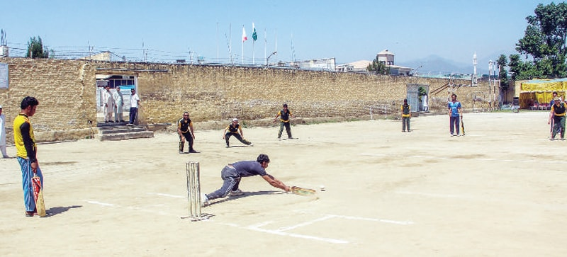 Visually-impaired youths seek sports facilities