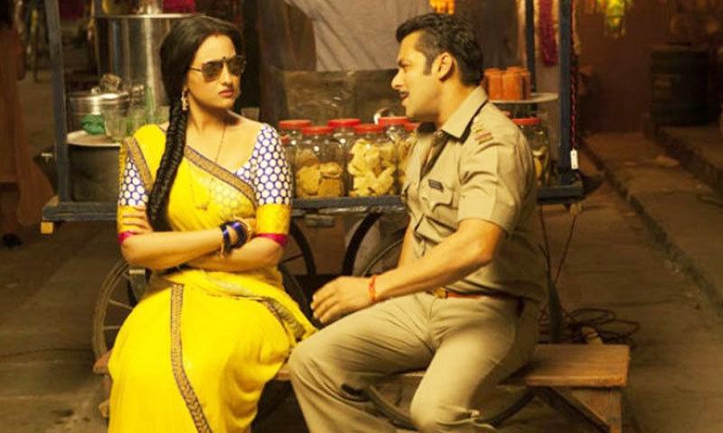 تیسری فلم میں بھی سلمان اور سوناکشی رومانس کرتے نظر آئیں گے—اسکرین شاٹ