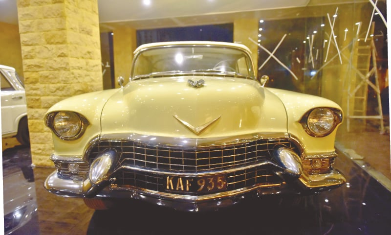 The newly restored Cadillac  | Photo Fahim Siddiqi/White Star
