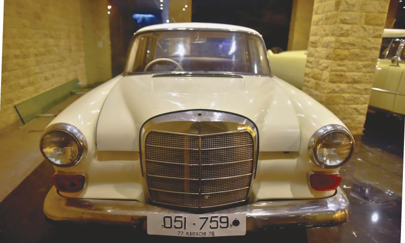 The newly restored Mercedes Benz  | Photo Fahim Siddiqi/White Star