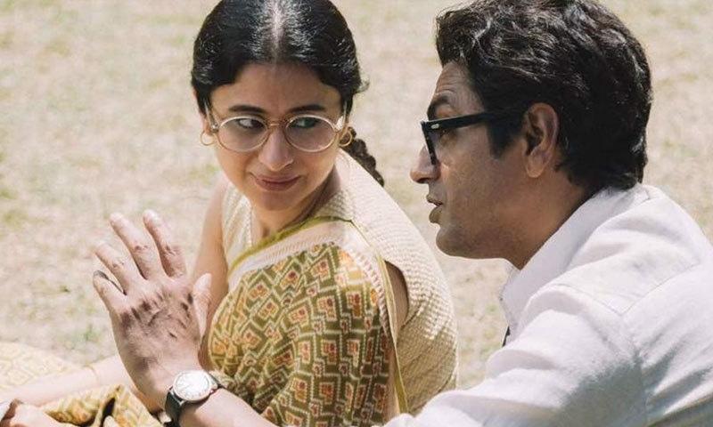 اداکارہ رسیکا دگل منٹو کی بیوی کا کردار ادا کرتی نظر آئیں گی—اسکرین شاٹ
