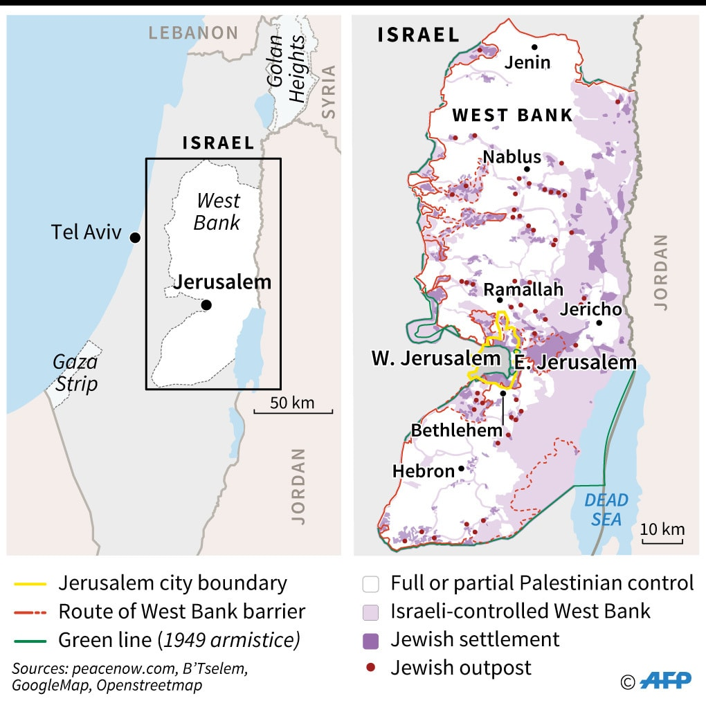 West Bank. —AFP