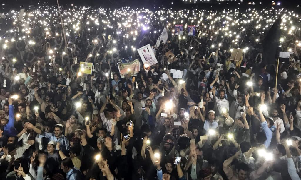 The rally concluded late Saturday night. —Photo courtesy Mohsin Dawar