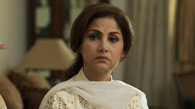 Lubna Aslam as Amna in 'Daam'