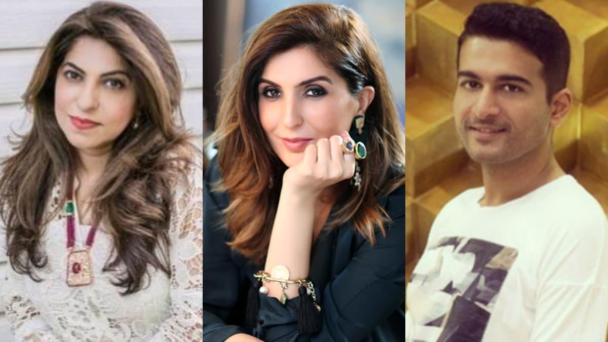 From L-R: Sherezad Rahimtoola, Khadija Shah and Yousuf Shahbaz